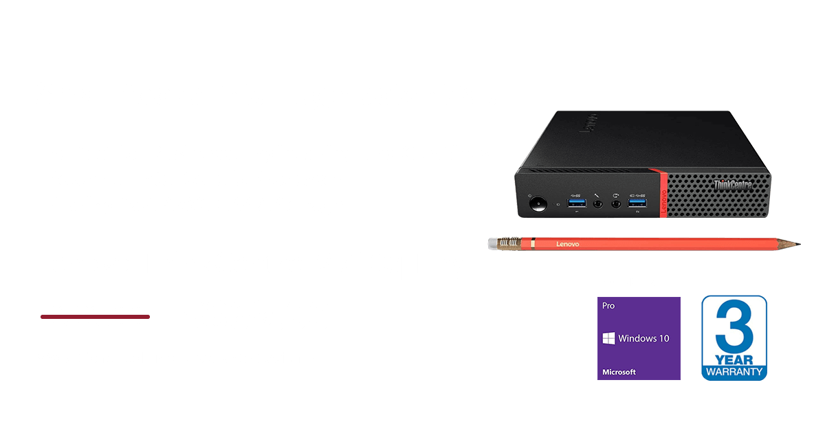 promo Lenovo ThinkCentre M710 Tiny