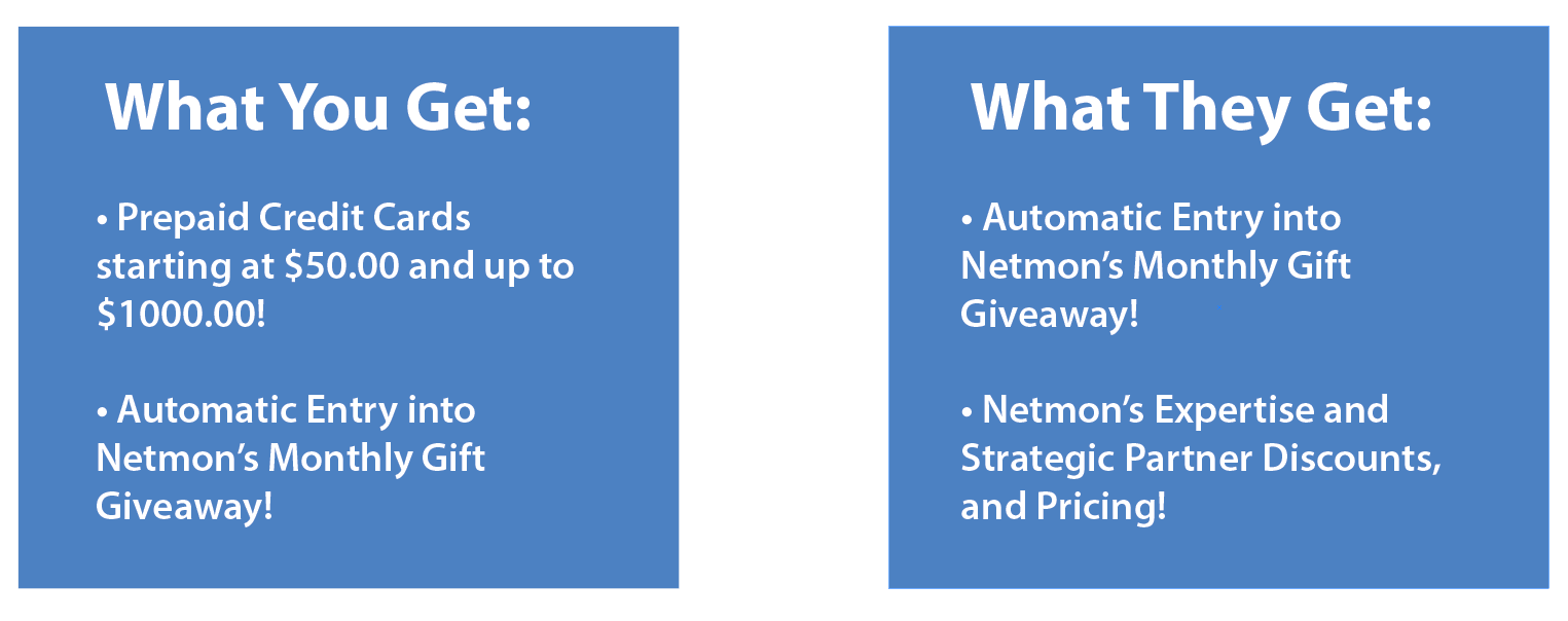 netmon services referral program